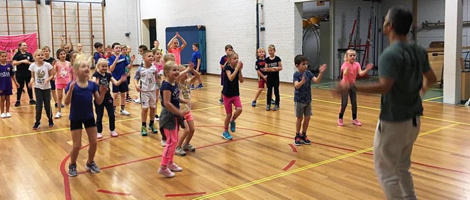 Een sportieve vakantiedag voor de jeugd
