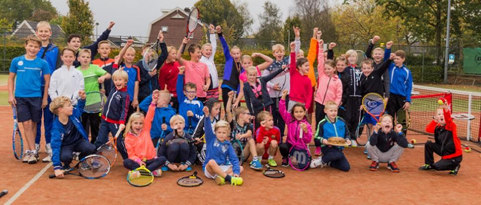 Tennistalentjes beloond met pannenkoeken