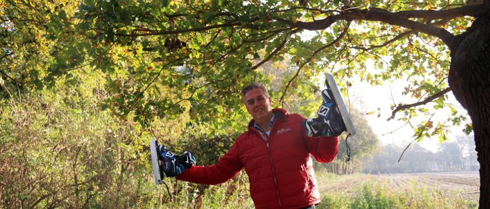 Honderd kilometer op natuurijs voor KiKa