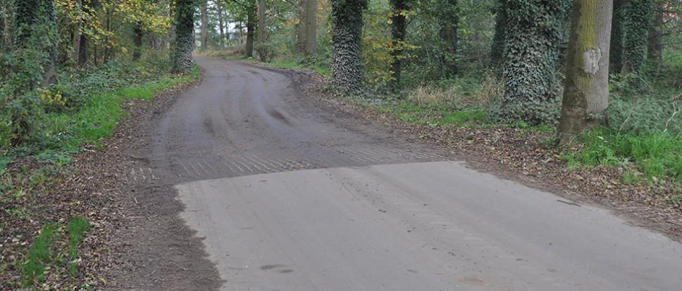 Samen een zandpad asfalteren teveel gevraagd