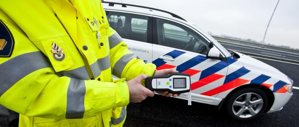 Vrouw (30) moet rijbewijs inleveren