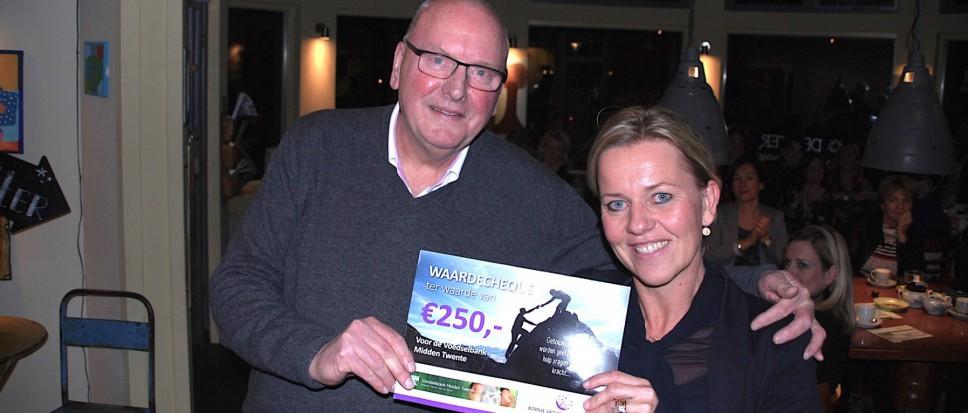 Vrouwen in Bedrijf schenken 250 euro
