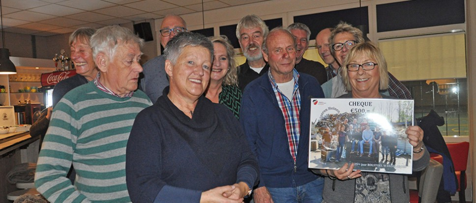 Rolstoelgroep verrast door IJzeren Heinen