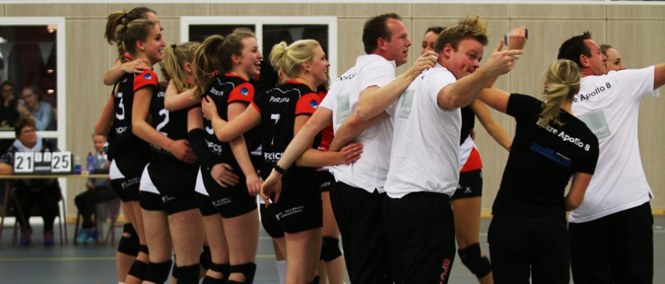 Dames Apollo 8 pakken de toppositie