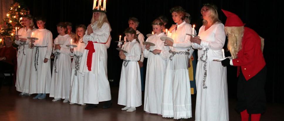 Scandinavisch feest in Stefans-Hof
