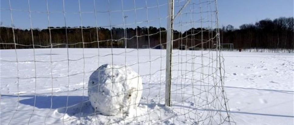 Geen amateurvoetbal op zondag