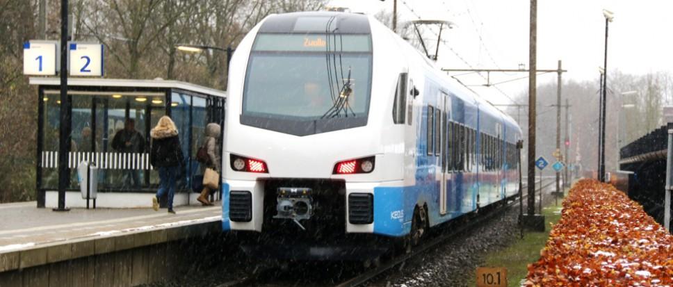 Tijdelijk geen intercity Raalte-Enschede
