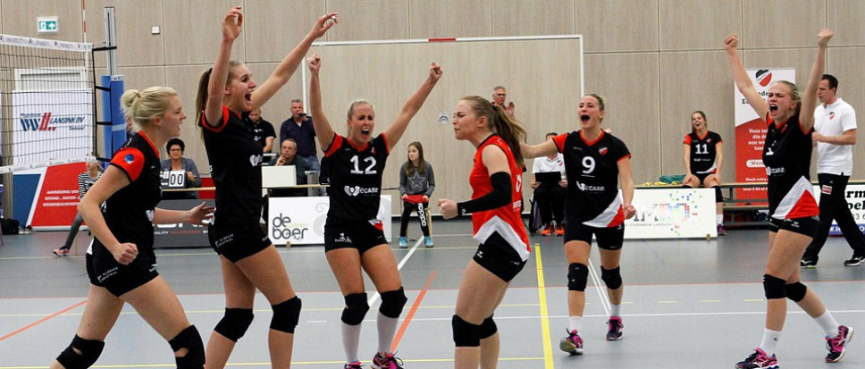 Dames Ecare Apollo 8 winterkampioen