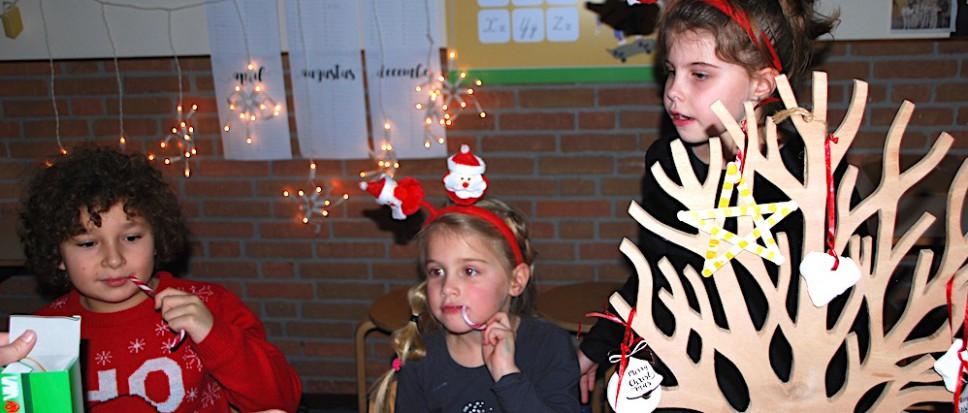 Kerstmarkten sluiten jaar basisscholen af