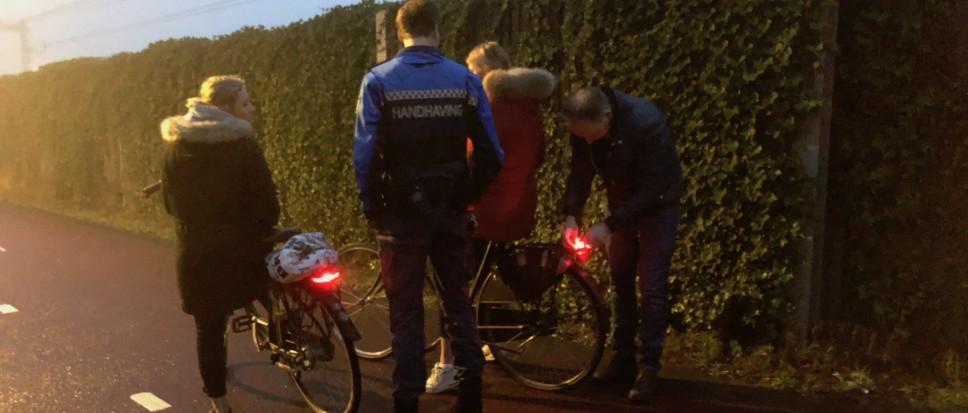 Complimenten voor de fietsers