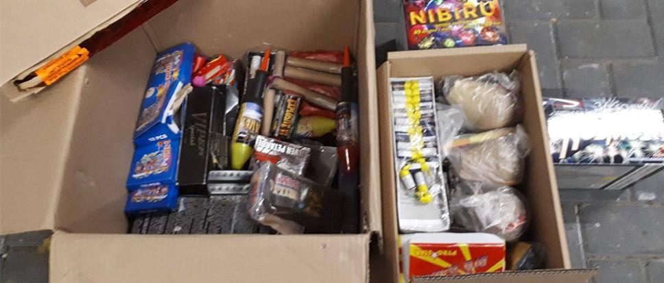 Illegaal vuurwerk aangetroffen