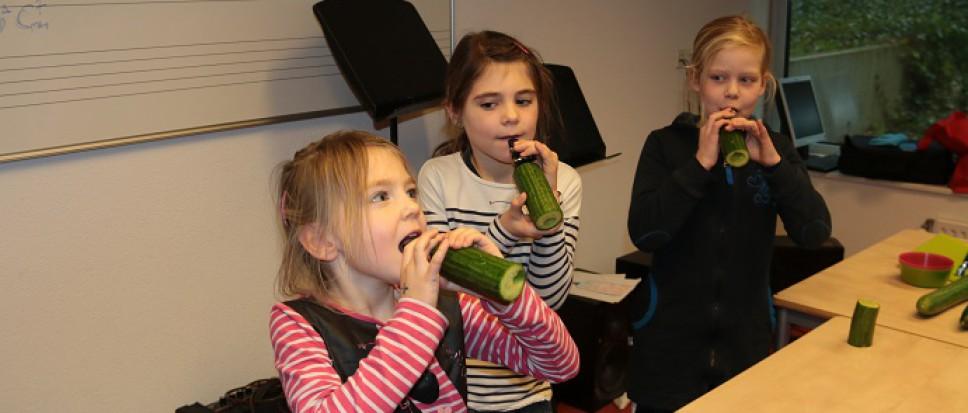 Geluksmomentjes bij kinderfeest Kulturhus