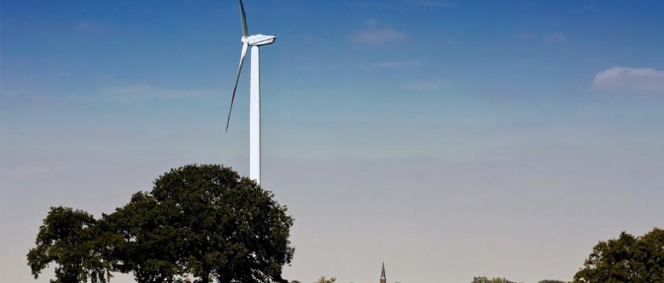 Op excursie naar windmolens