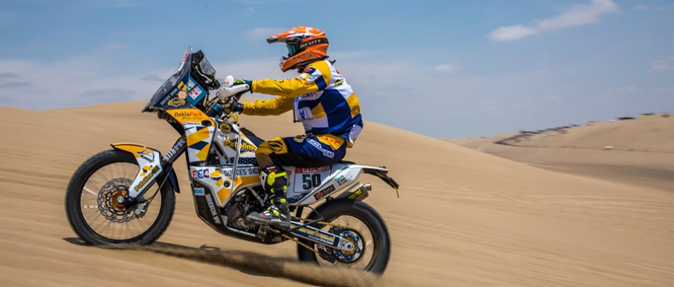 Mirjam Pol van start in Dakar Rally 2018