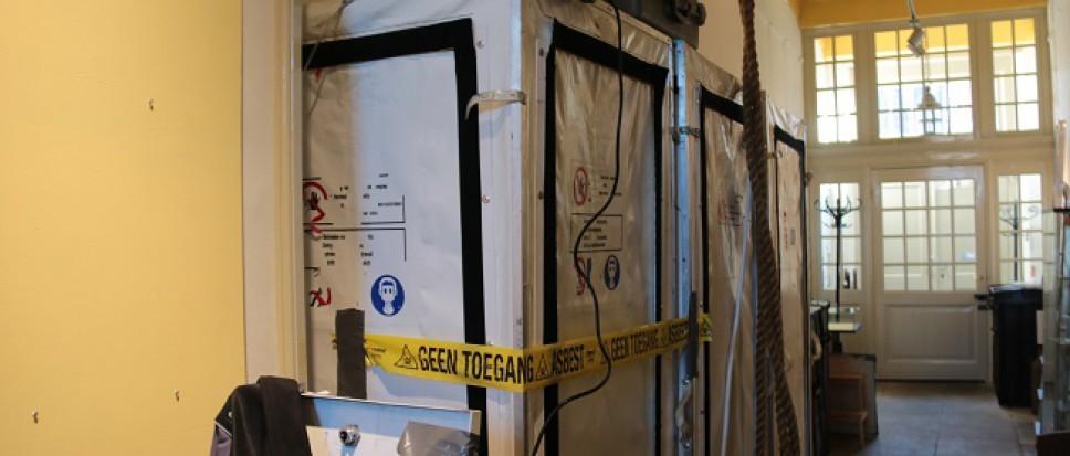 Weg met het asbest