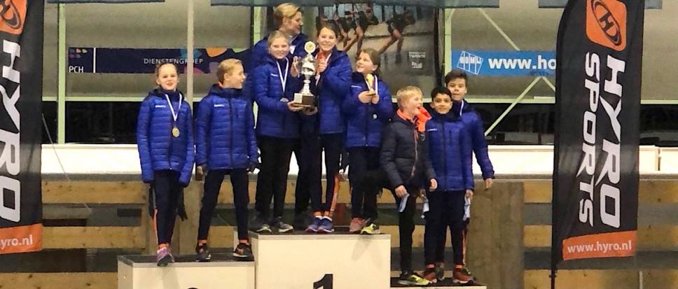 Trofee voor Bornse schaatspupillen