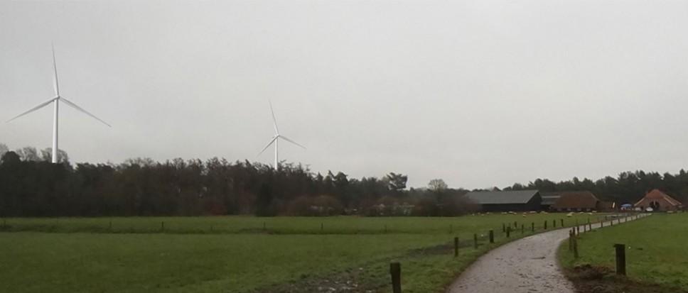 Bewoners Twickel niet blij met windmolens