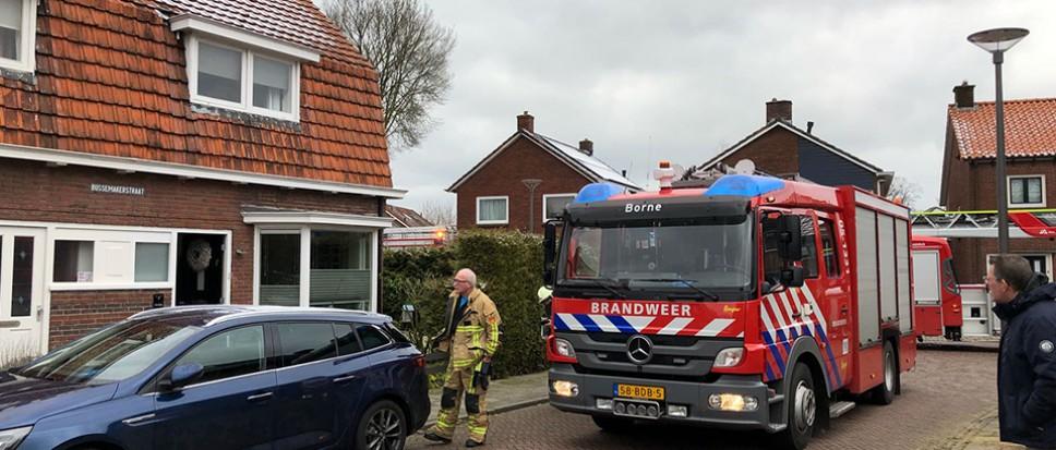 Kleine brand aan Bussemakerstraat