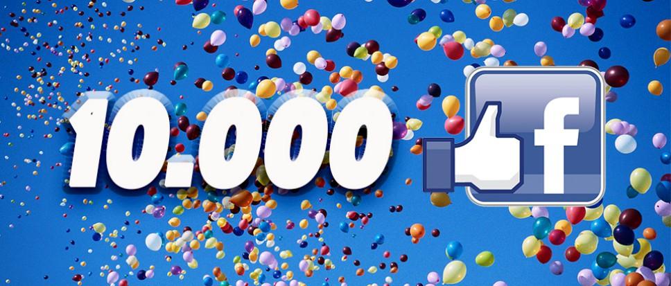 Hoera… we hebben de 10.000ste!!!