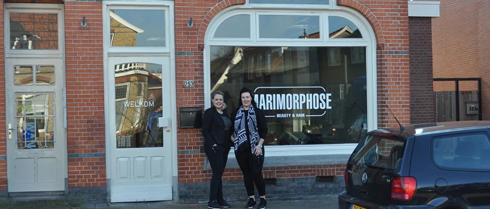 Marimorphose trekt in karakteristiek pand