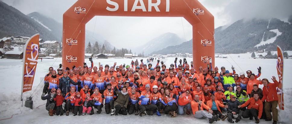 150 Kilometer schaatsen: 'awesome'!