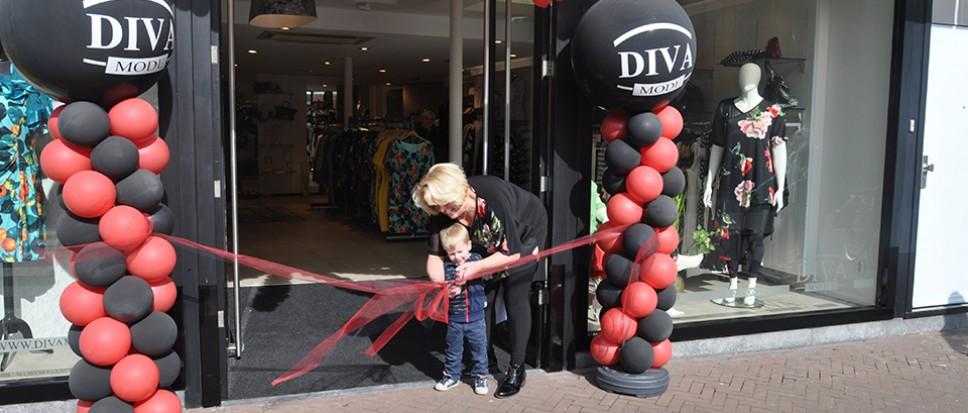 Diva Mode feestelijk geopend
