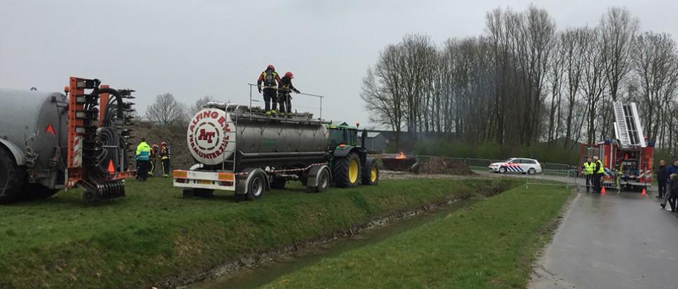Brandweer Borne wint in Winsum