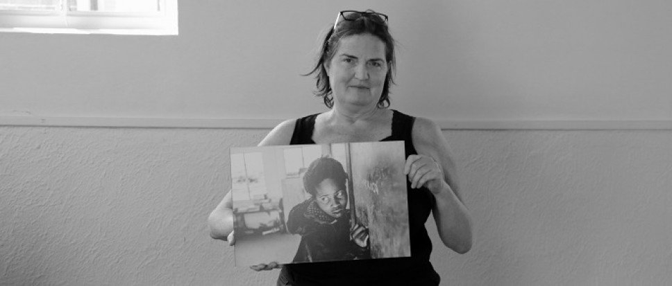 Zwart-wit fotografie in Synagoge