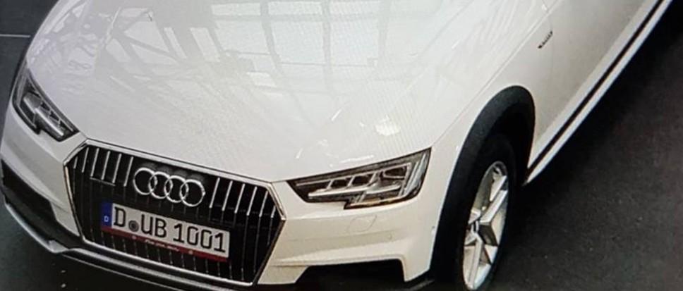 Politie zoekt witte Audi Quattro