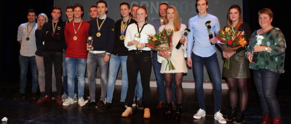 Nieuw bij Sportgala: kampioenenparade
