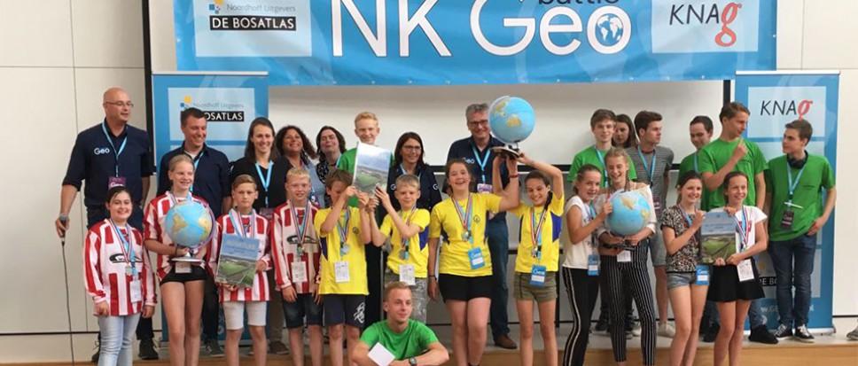 De Esch wint eerste NK GEObattle