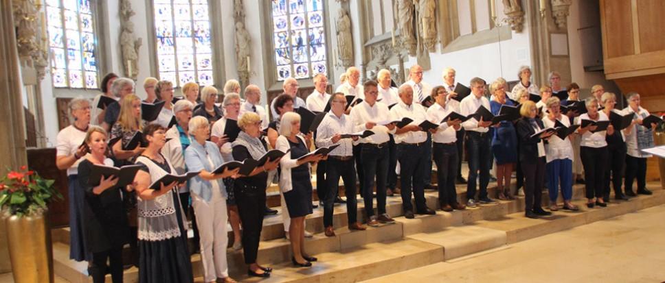 Bornse koormuziek klinkt in Rheine