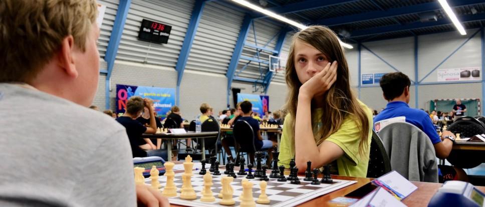 NK Jeugdschaak van start