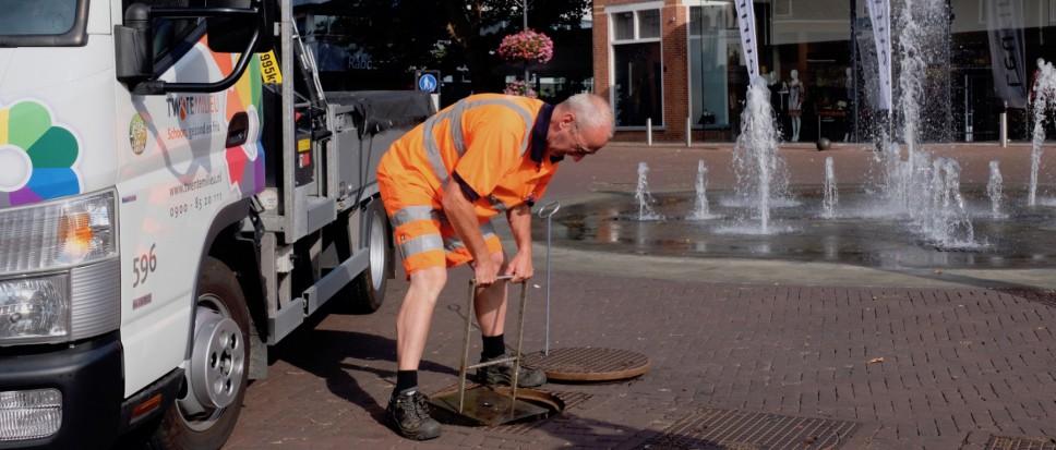 'Fontein Dorsetplein blijft brandschoon'
