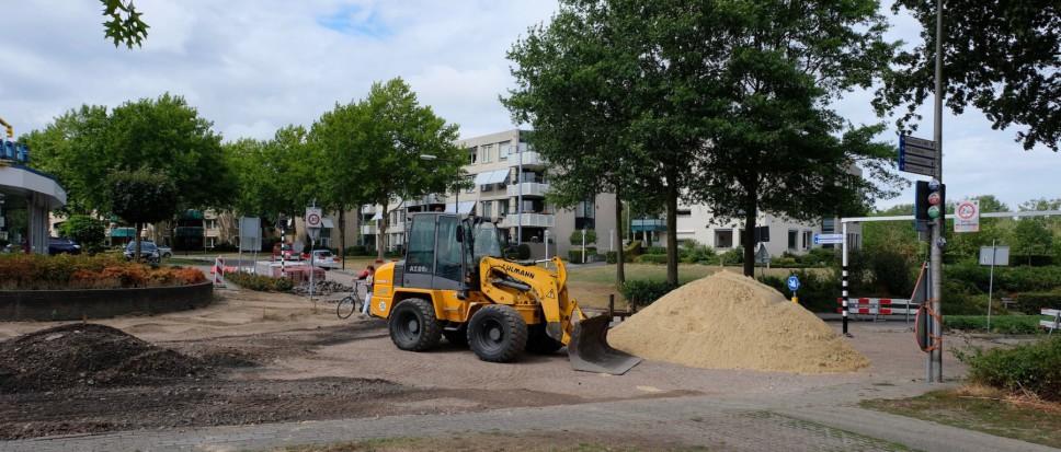 Werk aan Bekenhorst in volle gang