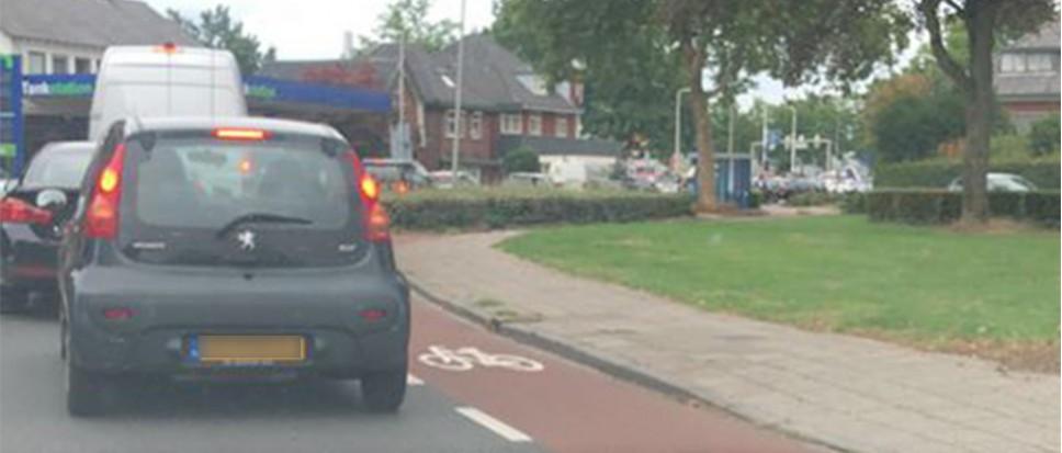 Problemen door defect verkeerslicht