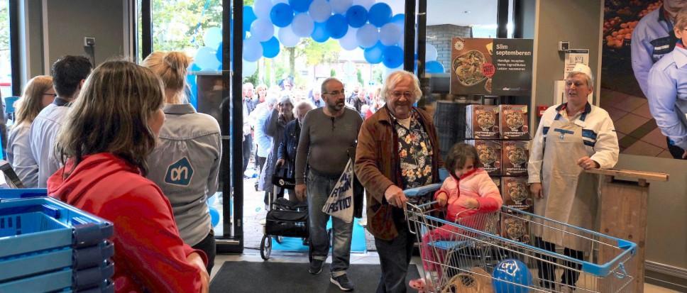 Vernieuwde Albert Heijn geopend