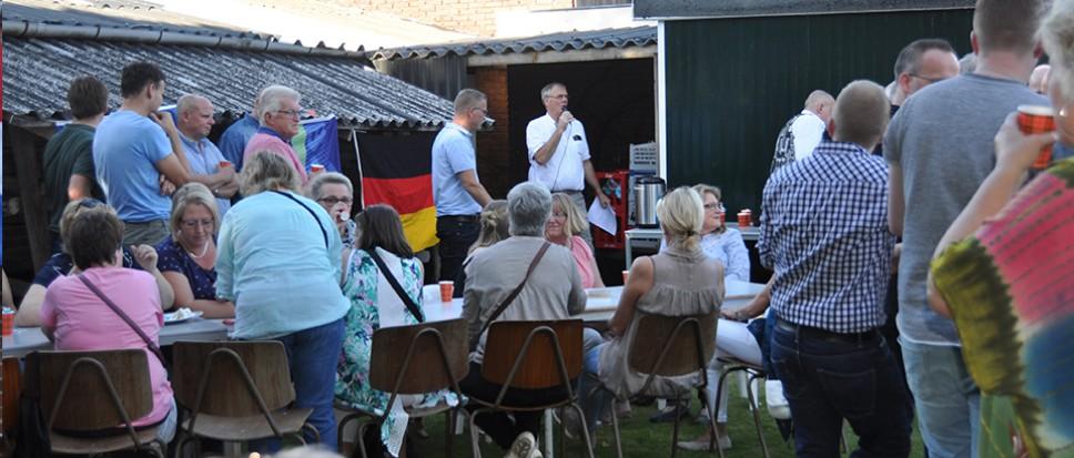 Duitse schutters genieten van Borne