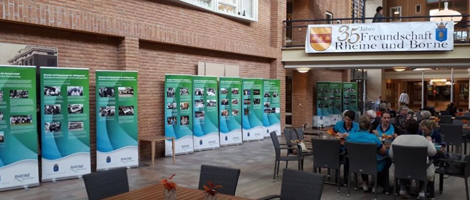 Tentoonstelling Historie Partnerschap Borne – Rheine