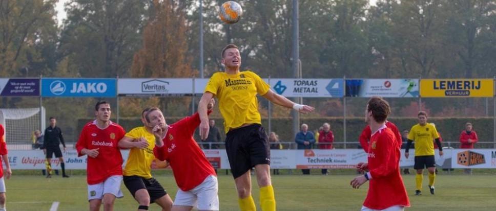 BVV Borne wint met 4-3 in blessuretijd