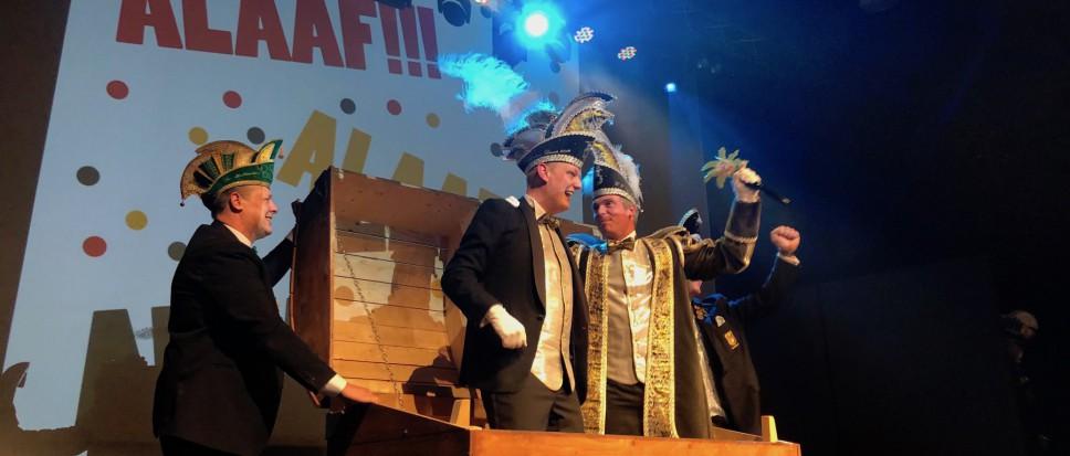 Prins Hugo leidt carnaval Melbuulkes