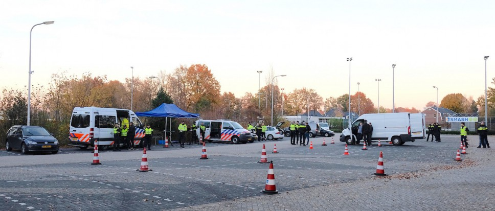 Grote politiecontrole op A35