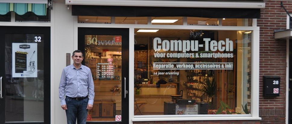 Compu-Tech nieuw in Nieuwe Kerkstraat