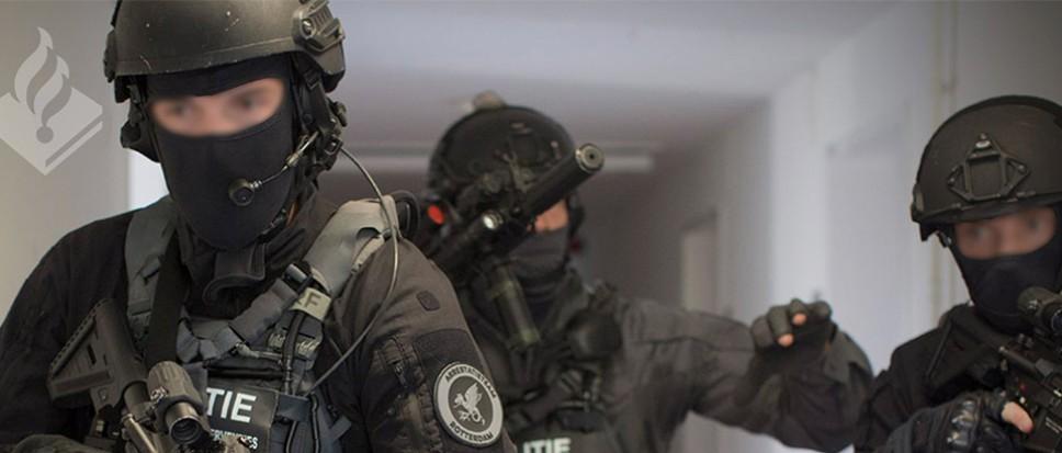Anti-terrorisme oefening rond Borne