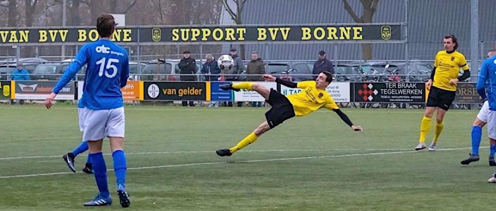 BVV Borne speelt gelijk tegen Hengelo