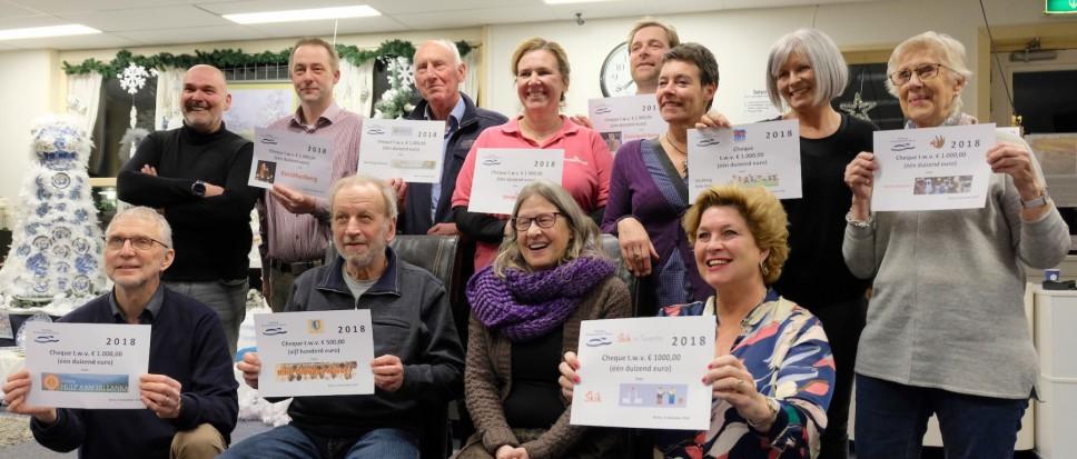 Kringloop verwent Bornse initiatieven