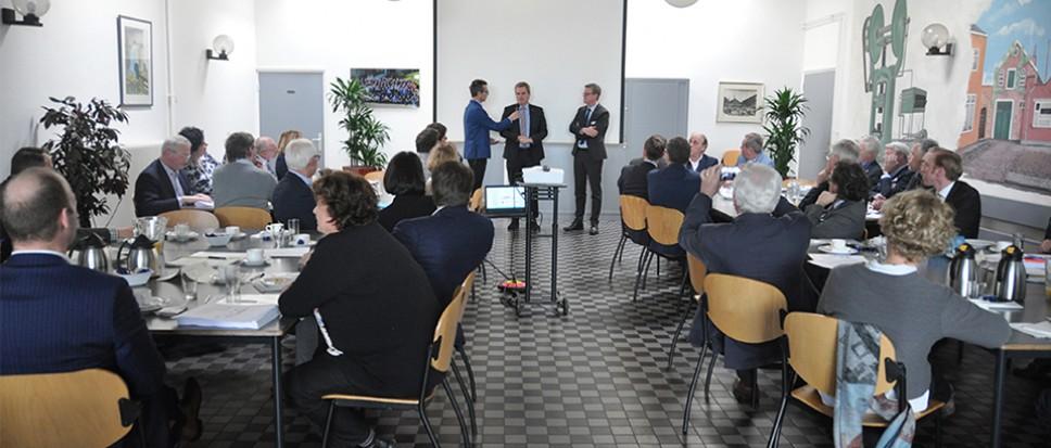 Nieuwjaarsborrel voor ondernemers uit Borne en Rheine