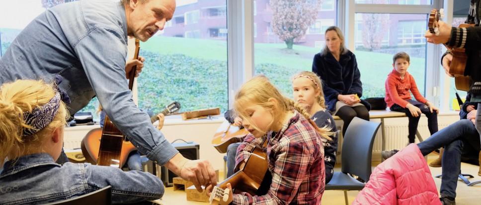 Eerste Play Inn Muziekschool een succes