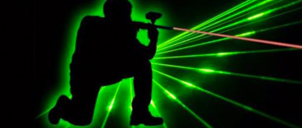 Lasergamen voor achtste groepers