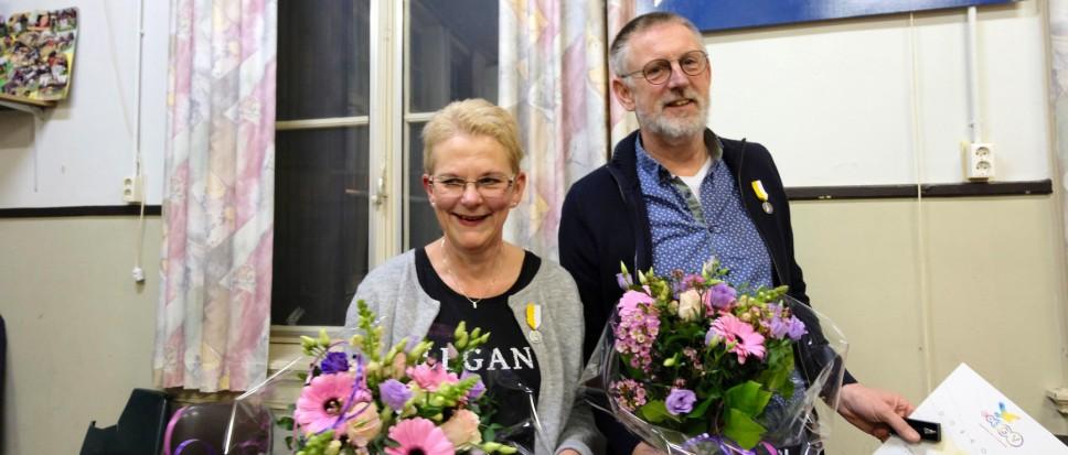 Jan en Miriam kwart eeuw bij Inpajoko
